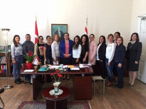 TRNC Representative Ambassador Oya Tuncalı accepted the teachers assigned to the Turkish Schools in London