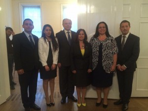 Ambassador Oya Tuncalı hosted a Bayram reception which was attended by the Turkish Cypriot community living in London (24 September 2015)
