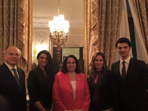 Ambassador Tuncalı attended the Republic Day reception at the Turkish Embassy (29 October 2015)