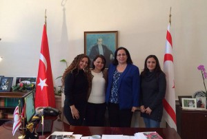 TRNC Director of Treasury Fatma Görener visited Ambassador Tuncalı