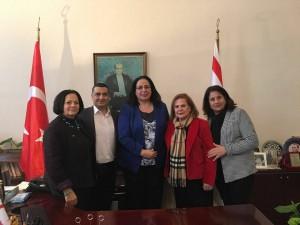 Vatan Kültürel Türk Müziği Korosu Büyükelçi Oya Tuncalı'yı ziyaret etti
