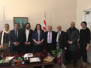 İngiltere Bağımsız Kıbrıs Türk Tur Operatörleri Birliği ilk ziyaretlerini Büyükelçi Oya Tuncalı'ya gerçekleştirdi