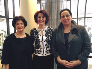 Büyükelçi Oya Tuncalı Londra Uluslararası Kadın Dernekleri Federasyonu'nun 30. Kuruluş Yıldönümü Çayı'na katıldı