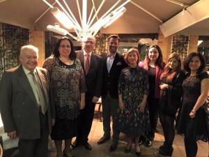 Büyükelçi Oya Tuncalı İngiltere Kıbrıslı Türk Hekimler Birliği'nin Tıp Bayramı vesilesiyle düzenlediği yemeğe katıldı